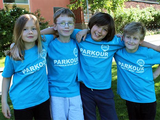 Parkourläger Stockholm Sport Academy