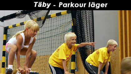 Sportlov v.9 – Täby- Parkour läger