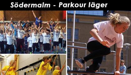 Påsklov v.16 – Södermalm – Parkour läger